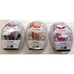 72 Units of Music And Phone Ear Buds In Ear Speaker Stereo Dynamic - Headphones and Earbuds
