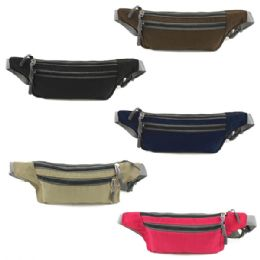 240 Units of Fanny Bag In Assorted Colors - Fanny Pack