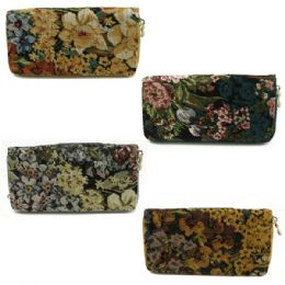 120 Units of QUALITY ONE ZIP WALLET IN ASSORTED PRINTS AND COLORS (DIMENSIONS: 4 X 7.5) - Wallets & Handbags
