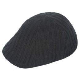 12 Units of Knit Fabric Duckbill Ivy Caps - Fedoras, Driver Caps & Visor