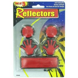 72 Units of Self-adhesive reflectors - Auto Accessories