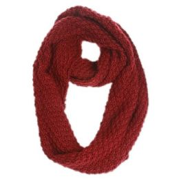 12 Units of Cable Knit Infinity Scarf - Winter Scarves