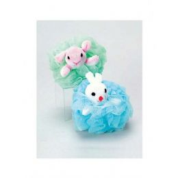 72 Units of Animal bath scrubber - Loofahs & Scrubbers