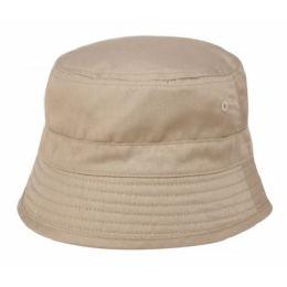 24 Units of Cotton Kids Bucket Hat - Kids Baseball Caps