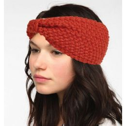 12 Units of Knit Turban Style Headband - Head Wraps