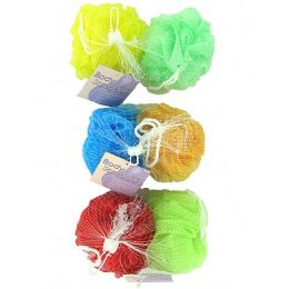 72 Units of Mesh body scrubbers - Loofahs & Scrubbers