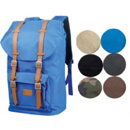 2 Units of CANVAS BACKPACK IN BLACK - Backpacks