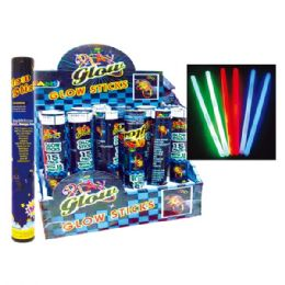 72 Units of Fifteen Count Glow Stick - Halloween & Thanksgiving