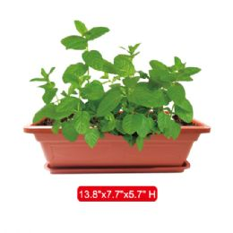 "48 Units of Planter 13.8x7.7x5.7"" Height - Garden Planters and Pots"