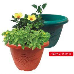 "48 Units of Planter 14.5x11.3"" Height - Garden Planters and Pots"