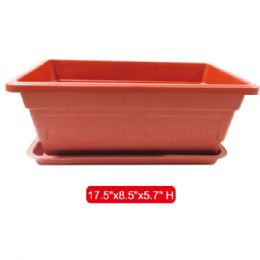 "36 Units of Planter 17.5x8.5x5.7""height - Garden Planters and Pots"