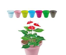 120 Units of Gardening Planter Assorted Colors - Garden Planters and Pots