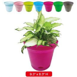 36 Units of Gardening Planter Assorted Colors - Garden Planters and Pots