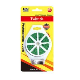 72 Units of Twist Tie 128 Feet - Garden Tools