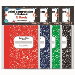72 Units of Mini Composition Book - Notebooks