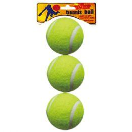 96 Units of Three Piece Tennis Balls - Balls