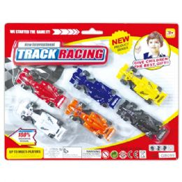 96 Units of Six Piece Racing Car Set - Cars, Planes, Trains & Bikes