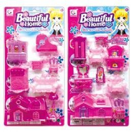 48 Units of Doll Home Play Set - Dolls