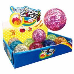 96 Units of Glitter Ball - Balls