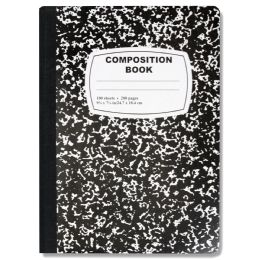48 Units of Composition Book - Black Only - Notebooks