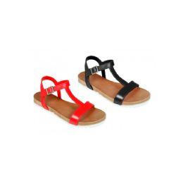 25 Units of Women's Solid Color Sandal - Women's Flip Flops