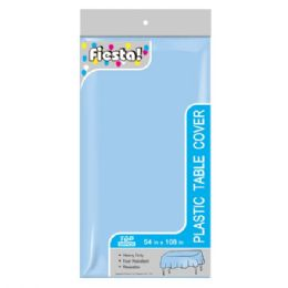 144 Units of Table Cover Baby Blue - Party Paper Goods