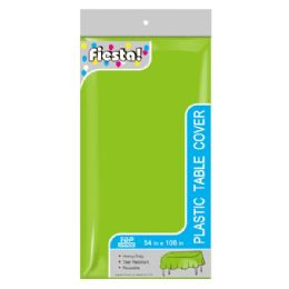 144 Units of Table Cover Lime - Party Paper Goods
