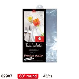 """96 Units of table protector/round 60"""" - Table Cloth"""