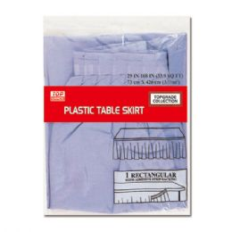 72 Units of Table Skirt Lavender - Party Paper Goods