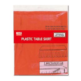 72 Units of Table Skirt Red Valentines - Valentine Decorations