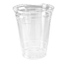 96 Units of Sixteen Ounce Clear Cup Sixteen Count - Disposable Cups