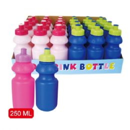 96 Units of 250ml Sports Bottle - Sport Water Bottles