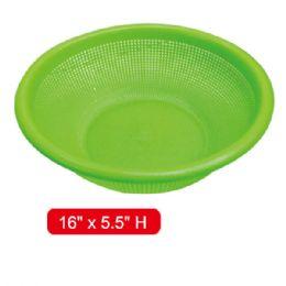 """96 Units of plastic colander 12x4.5"""" - Kitchen Gadgets & Tools"""