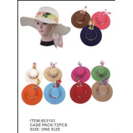 36 Units of Women Summer Hat - Sun Hats