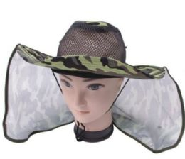 72 Units of Unisex Assorted Color Camo Boonie Hat - Cowboy & Boonie Hat