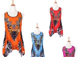 60 Units of Women's Assorted Color Fashion Tops - Womens Fashion Tops
