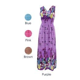 24 Units of Womens Fashion Sun Dresses Assorted Colors And Sizes Summer Dresses - Womens Sundresses & Fashion