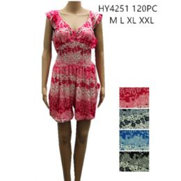 48 Units of Womens Fashion Summer Romper Assorted Color And Size - Womens Rompers & Outfit Sets