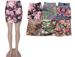 36 Units of Womens Denim Like Skirt - Womens Skirts