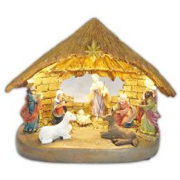 8 Units of Holy Family Nativity Set - Christmas Novelties