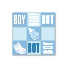 "96 Units of napkin boy 13x13""/ 8 count - Baby Shower"