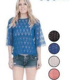 60 Units of Ladies Fashion Crochet Tops - Womens Fashion Tops