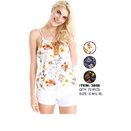 36 Units of Ladies Fashion Top Assorted Colors - Womens Fashion Tops