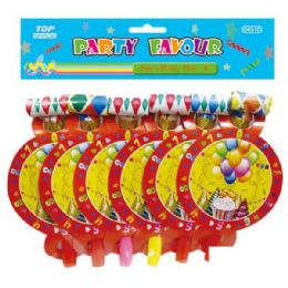 96 Units of 6 count party blow-out - Party Favors