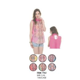 72 Units of Ladies Fashion Top Assorted Colors - Womens Fashion Tops