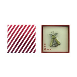 36 Units of Gift Box With Angel Pin - Jewelry & Accessories