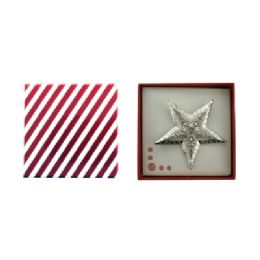 36 Units of Star Pin With Gift Box - Jewelry & Accessories