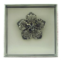 36 Units of Flower Pin With Gift Box - Jewelry & Accessories