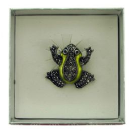 36 Units of Frog Pin With Gift Box - Jewelry & Accessories