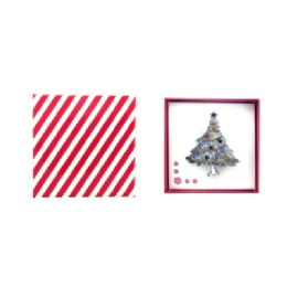 36 Units of Christmas Tree Pin - Jewelry & Accessories